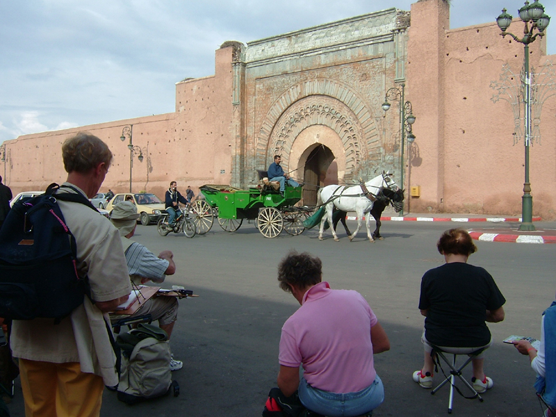 Groupe stagiaires A. MARC Marrakech 4