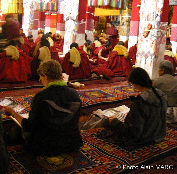 Groupe stagiaires A. MARC Tibet 3
