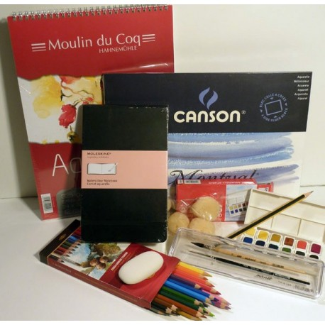Set aquarelle  débutants