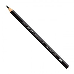 Crayon graphite aquarellable Faber-Castell Ø 3,8 mm – 8B