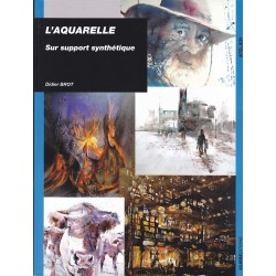 L'aquarelle sur support synthétique, Didier Brot