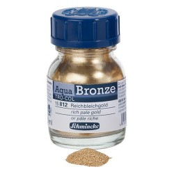Aqua-Bronze Or pâle riche 20ml Schmincke