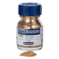 Aqua-Bronze Or pâle 20ml Schmincke