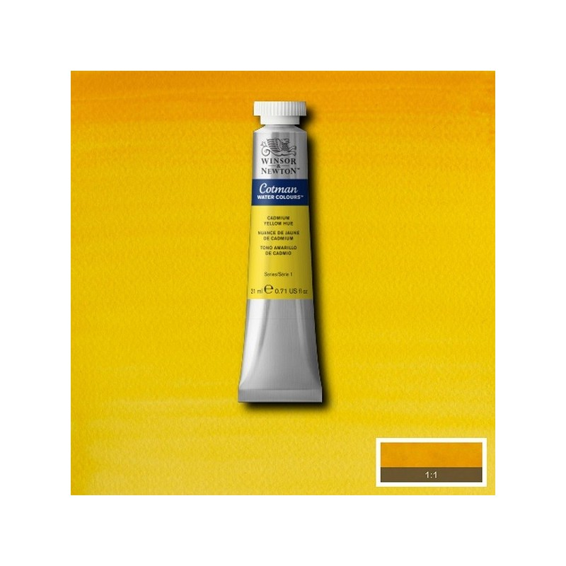 nuance de jaune de cadmium aquarelle tube 21 ml cotman. Black Bedroom Furniture Sets. Home Design Ideas