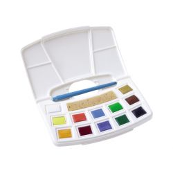 Pocketbox plastique Art creation Talens 12  1/2 godets