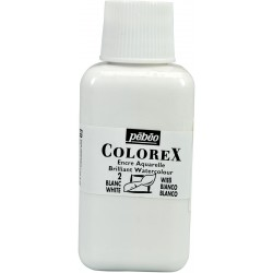 Blanc opaque - Encre aquarelle Colorex 250ml Pébéo