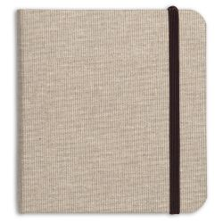 Goldline carnet toilé naturel 15x15cm 32F 180g Clairfontaine